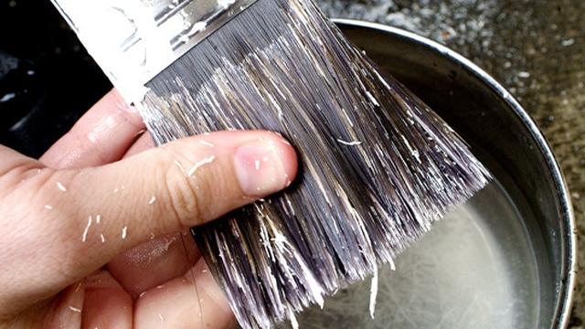 Clean brush