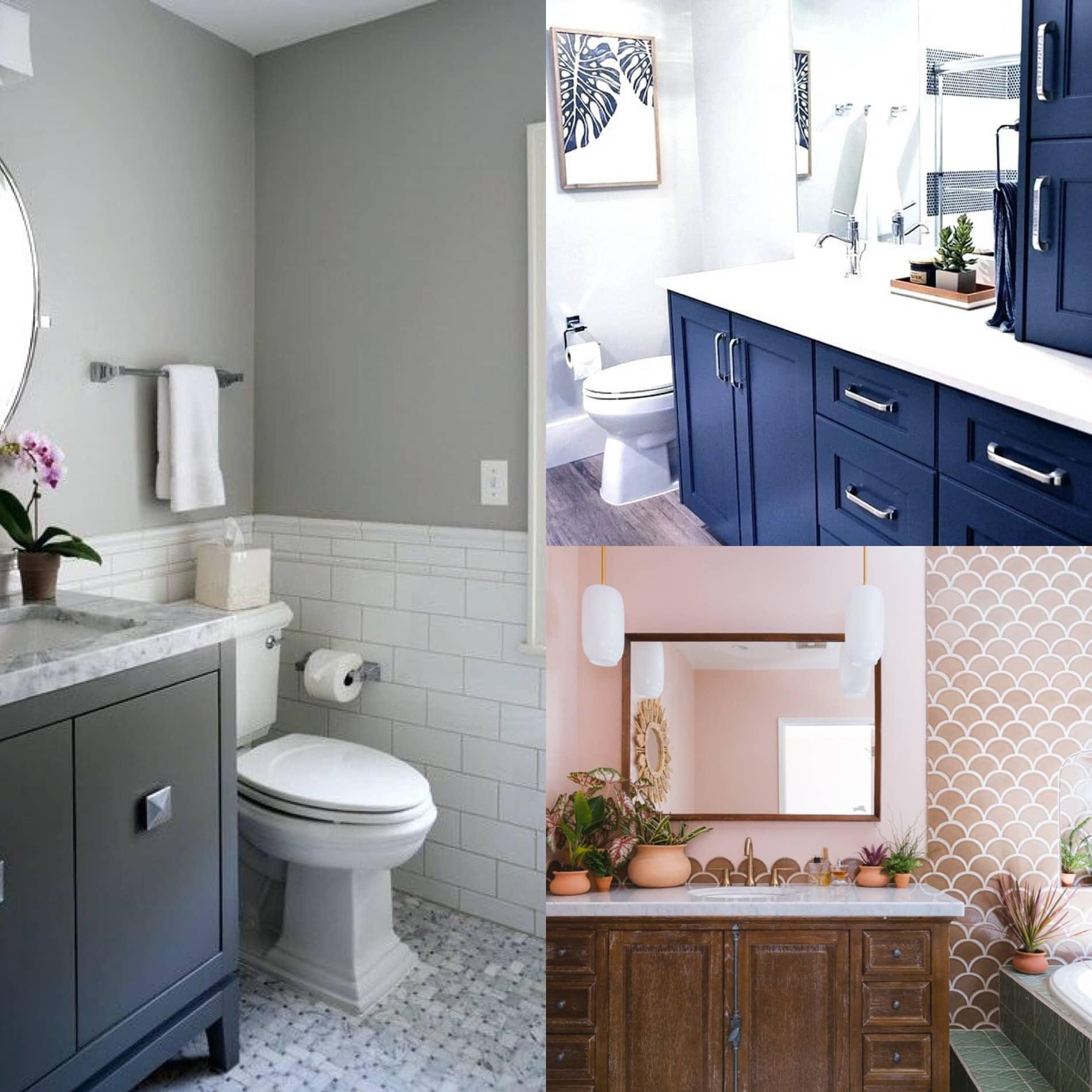 bathroom painting in Chantilly, VA