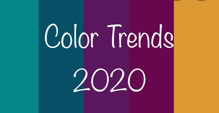 Color trends in 2020