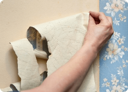 effective wallpaper removal