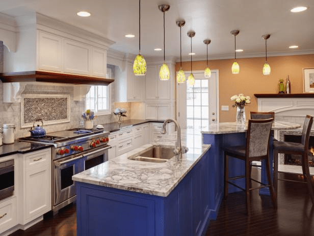 Kitchen cabinet repainting in Chantilly, VA
