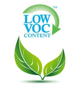 Low VOC paint content